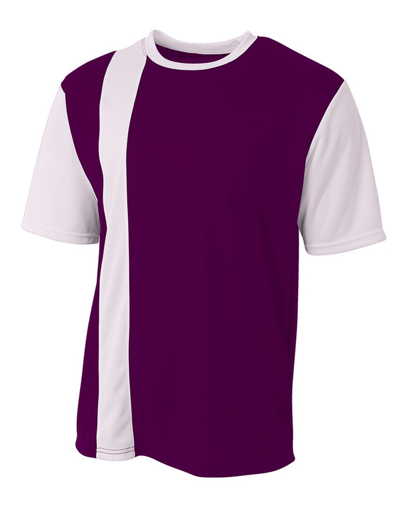 best service e39dd 9fb89 A4 N3016 Legend Soccer Jersey - Purple White