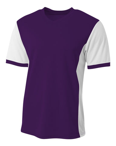 A4 NB3017 Premier Soccer Jersey - Purple White