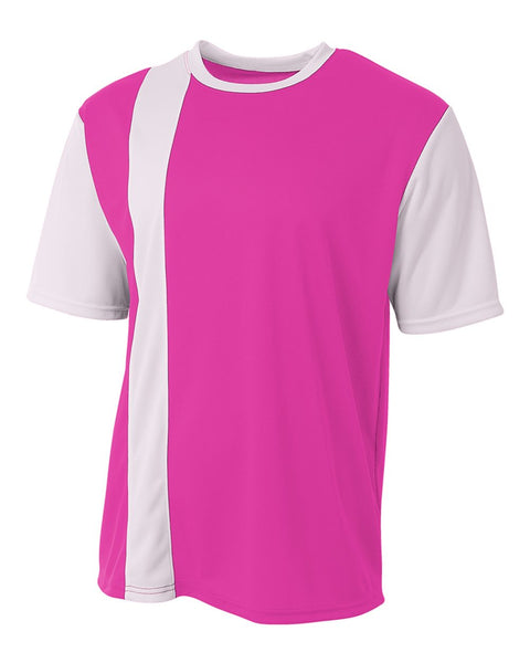 A4 N3016 Legend Soccer Jersey - Fuschia White - HIT A Double
