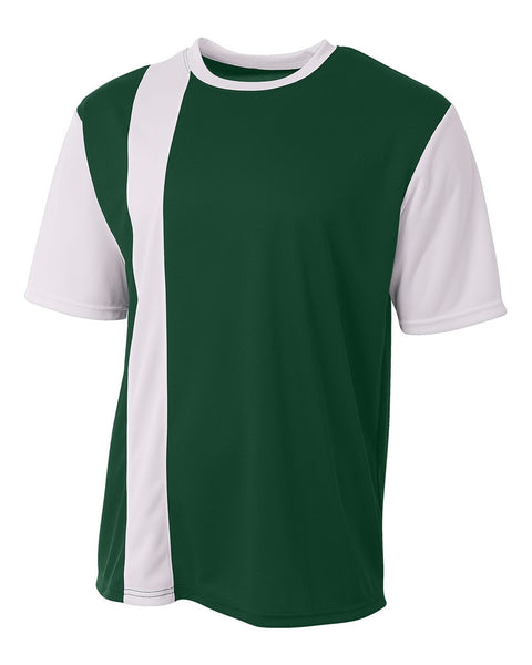 A4 NB3016 Legend Soccer Jersey - Forest White