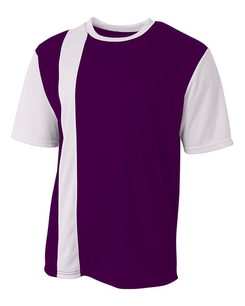A4 NB3016 Legend Soccer Jersey - Purple White