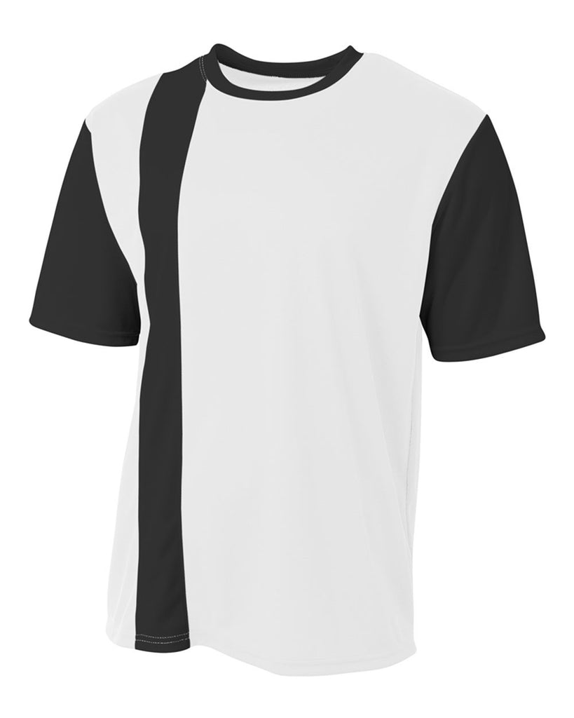 e0d1c99f94c A4 NB3016 Legend Soccer Jersey - White Black – HIT A Double