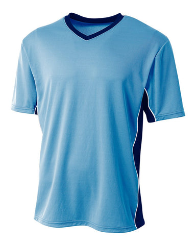 A4 NB3018 Liga Soccer Jersey - Light Blue Navy
