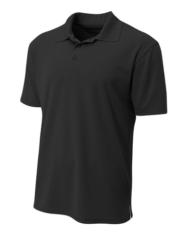 A4 N3008 Performance Pique Polo - Black
