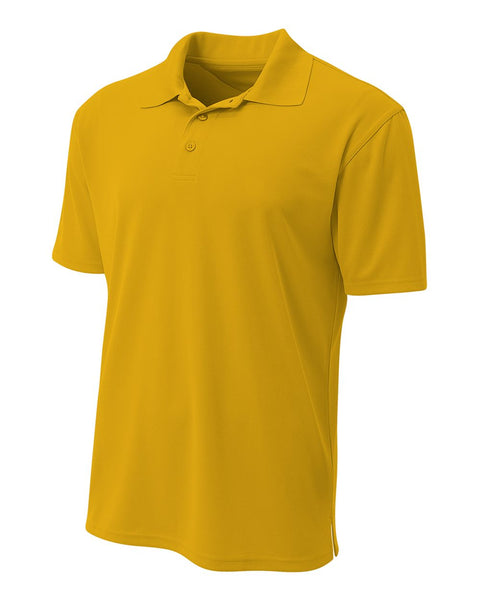 A4 N3008 Performance Pique Polo - Gold