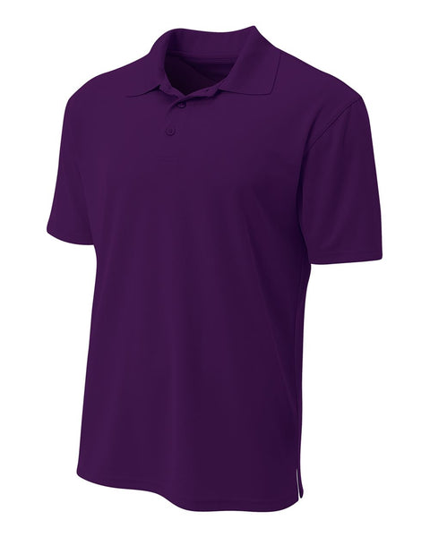 A4 N3008 Performance Pique Polo - Purple