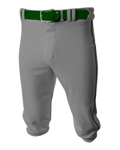A4 N6003 Baseball Knicker Pant - Grey Forest