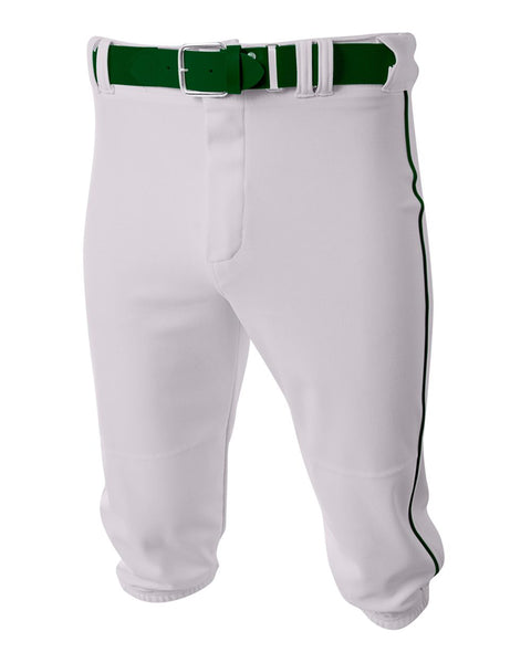 A4 N6003 Baseball Knicker Pant - White Forest