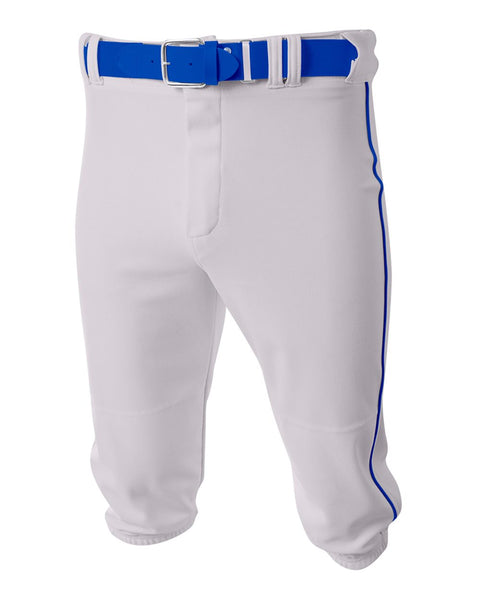 A4 N6003 Baseball Knicker Pant - White Royal