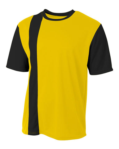 A4 N3016 Legend Soccer Jersey - Gold Black - HIT A Double