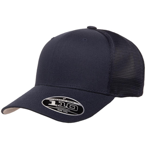 Flexfit 110 Mesh-Back Cap - Navy