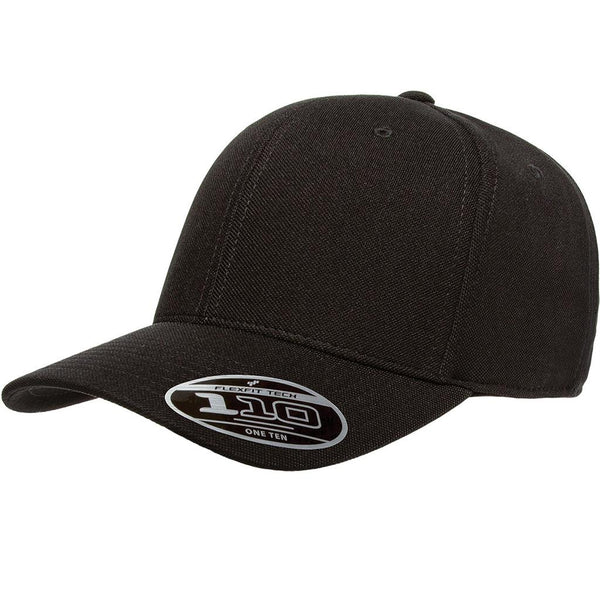 Flexfit 110 Mini-Piqué Cap - Black