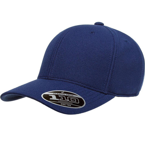 Flexfit 110 Mini-Piqué Cap - Navy - HIT A Double