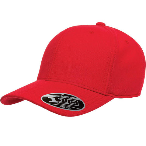 Flexfit 110 Mini-Piqué Cap - Red - HIT A Double