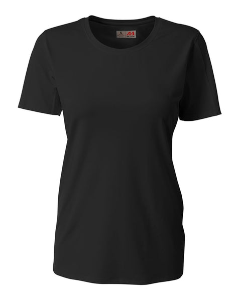 A4 NG3014 The Spike - Short Sleeve Volleyball Jersey - Black