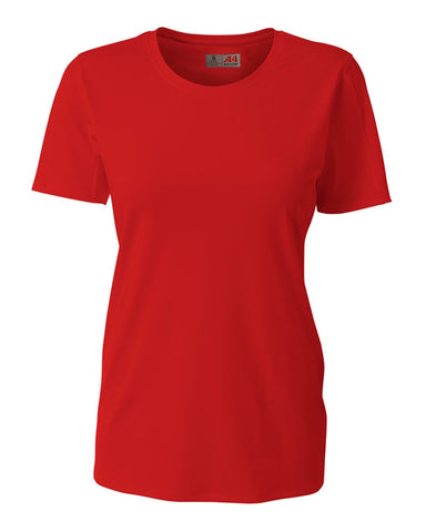 A4 NG3014 The Spike - Short Sleeve Volleyball Jersey - Scarlet