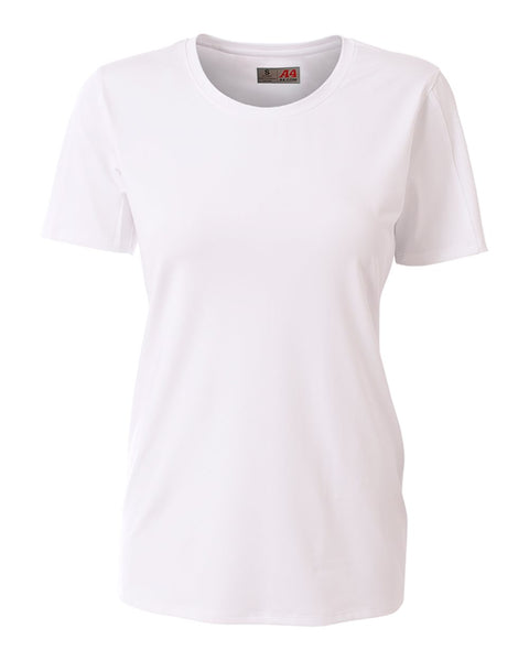 A4 NG3014 The Spike - Short Sleeve Volleyball Jersey - White - HIT A Double
