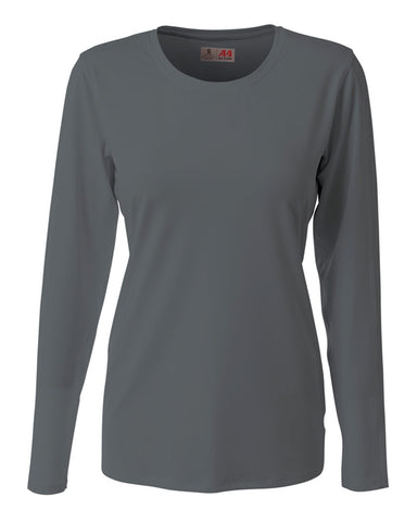 A4 NG3015 The Spike - Long Sleeve Volleyball Jersey - Graphite