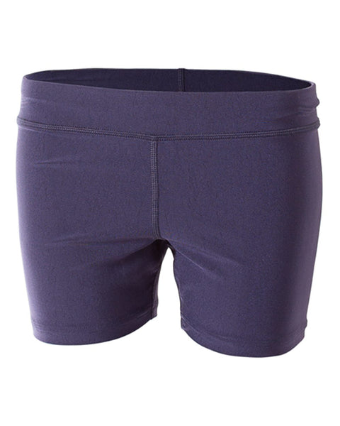 "A4 NG5024 4"" Volleyball Short - Navy - HIT A Double"