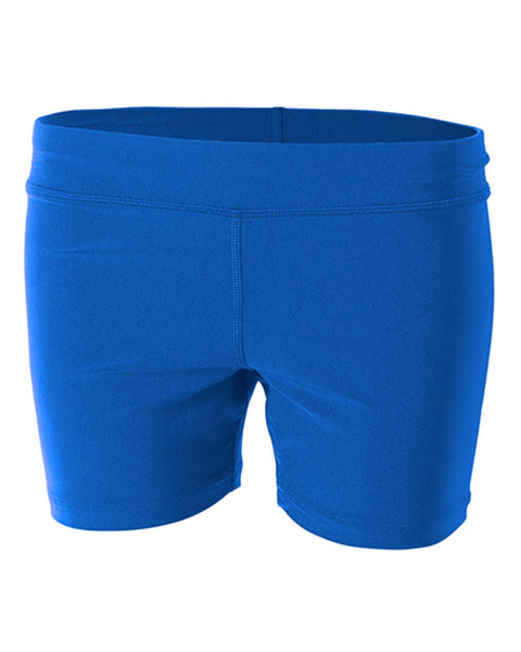 "A4 NW5024 4"" Volleyball Short - Royal"