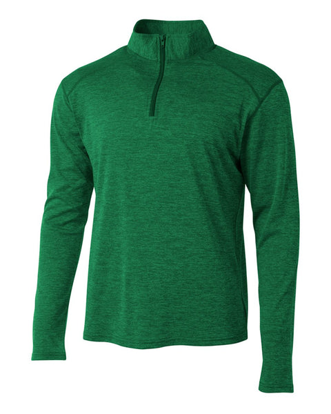 A4 N4010 Inspire Quarter Zip - Kelly - HIT A Double