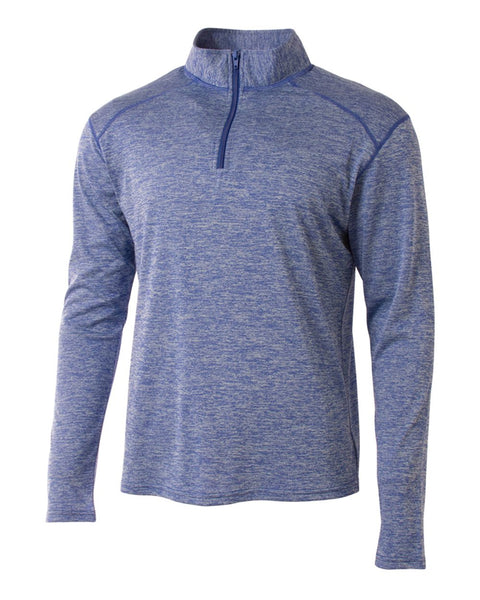A4 N4010 Inspire Quarter Zip - Light Blue