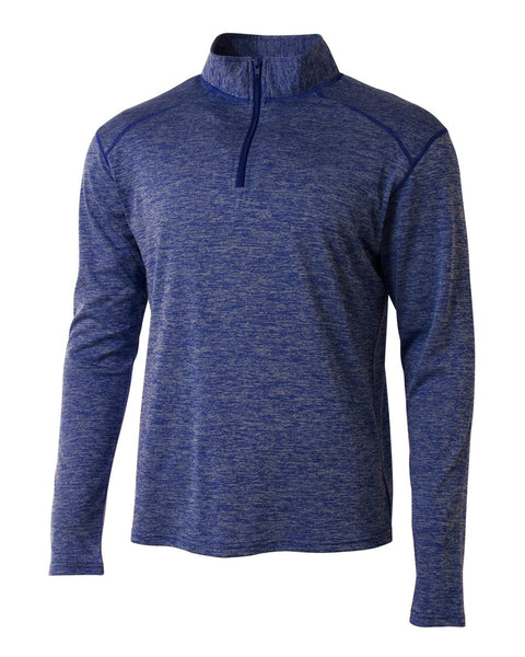 A4 N4010 Inspire Quarter Zip - Royal