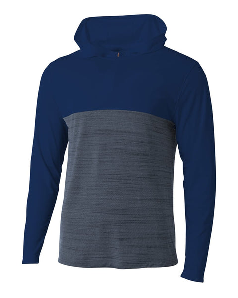 A4 N4013 The Slate Quarter Zip - Navy