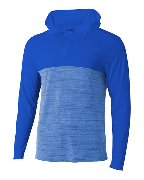 A4 N4013 The Slate Quarter Zip - Royal