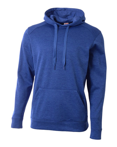 A4 N4103 Inspire Fleece Hoodie - Royal