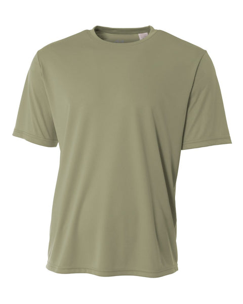 A4 NB3142 Youth Cooling Performance Crew - Olive