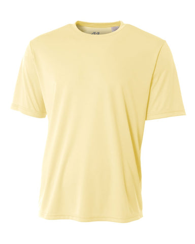 A4 NB3142 Youth Cooling Performance Crew - Light Yellow