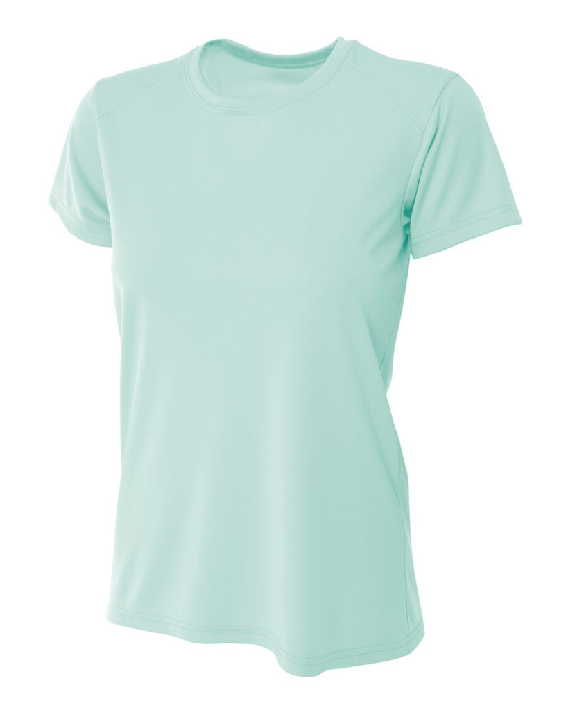 A4 NW3201 Women's Cooling Performance Crew - Pastel Mint