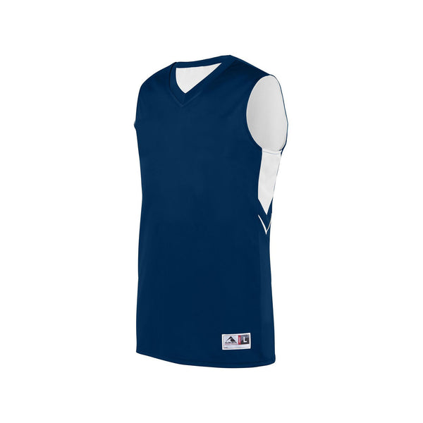 Augusta 1167 Youth Alley-Oop Reversible Jersey - Navy White