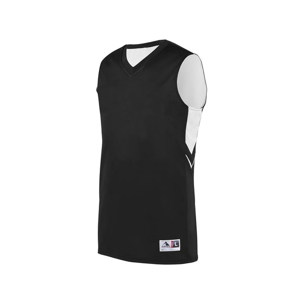 Augusta 1167 Youth Alley-Oop Reversible Jersey - Black White