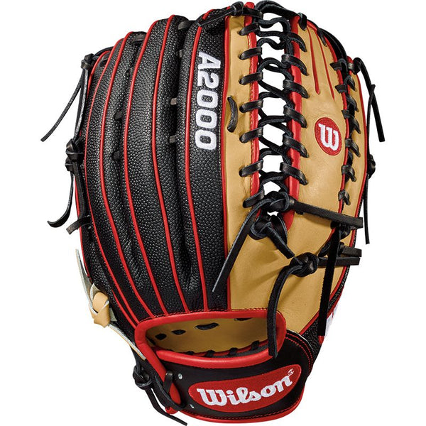"Wilson A2000 SuperSkin OT6 12.75"" Outfield Glove WTA20LB18OT6SS - Baseball Gloves - Hit A Double - 1"