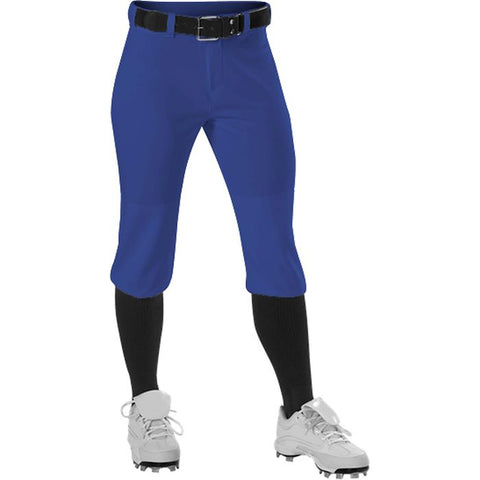 Alleson 605PKNG Girl's Fastpitch Pant - Royal