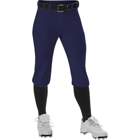 Alleson 605PKNG Girl's Fastpitch Pant - Navy