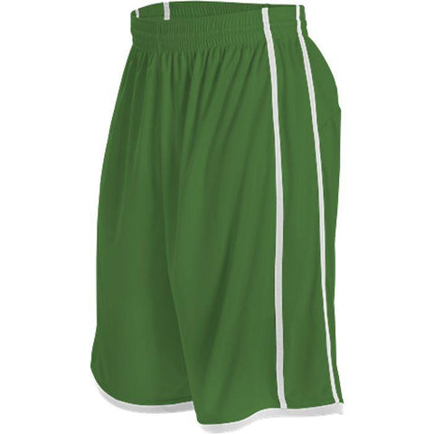 Alleson 535PW Women's Basketball Short - Kelly White - Basketball - Hit A Double