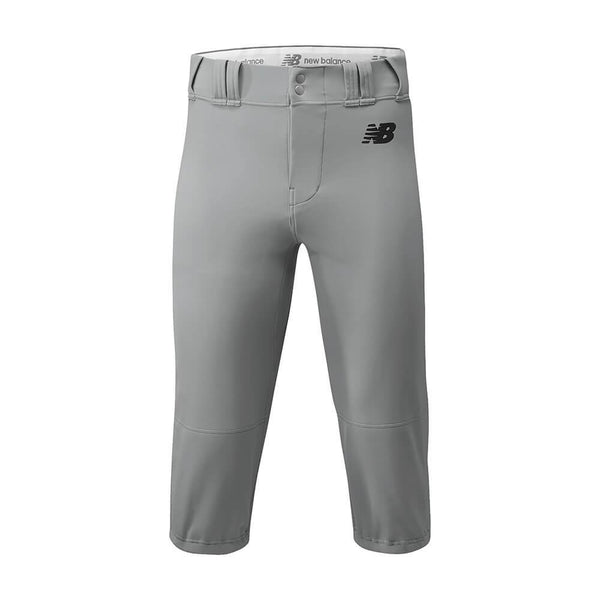 New Balance Adversary 2 Adult Solid Knicker - Gray - Baseball Apparel, Softball Apparel - Hit A Double - 1