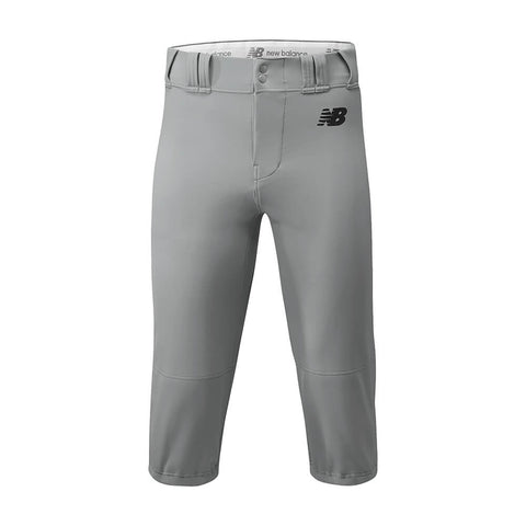 New Balance Adversary Adult Solid Knicker - Gray - Baseball Apparel, Softball Apparel - Hit A Double - 1