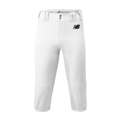 New Balance Adversary Adult Solid Knicker - White - Baseball Apparel, Softball Apparel - Hit A Double - 1