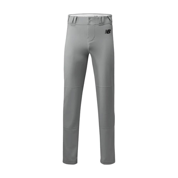 New Balance Adversary 2 Youth Solid Pant - Gray - Baseball Apparel, Softball Apparel - Hit A Double - 1