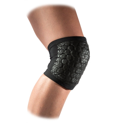 McDavid MD6515XDD Hex Tuf Dual Density Volleyball Knee Elbow Pads Pair Adult - Black - HIT A Double