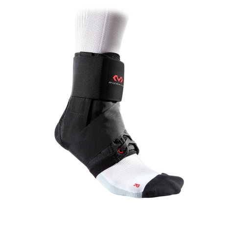 McDavid MD195 Ankle Brace with Straps Adult - Black - HIT A Double