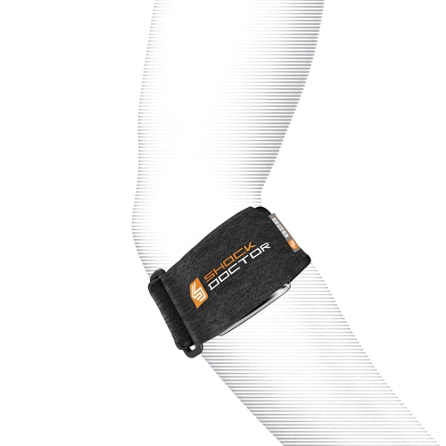Shock Doctor 828 Tennis Elbow Support Strap Adult - Black - HIT A Double