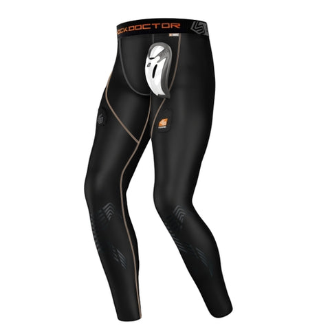 Shock Doctor 363 Core Compression Hockey Pant with Bioflex Cup - Black - HIT A Double