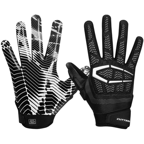Cutters S652 The Gamer 3.0 Gloves - Black