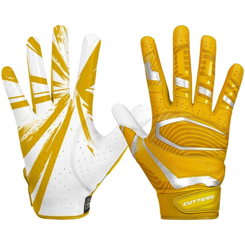 Cutters S452 Rev Pro 3.0 Gloves Adult - Gold
