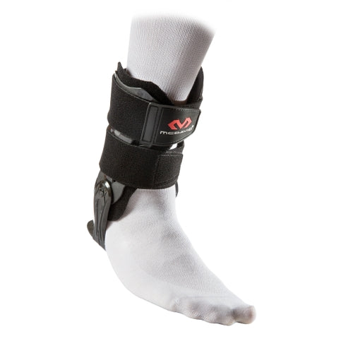 McDavid MD197 Ankle V Brace with Flexible Hinge Adult - Black - HIT A Double